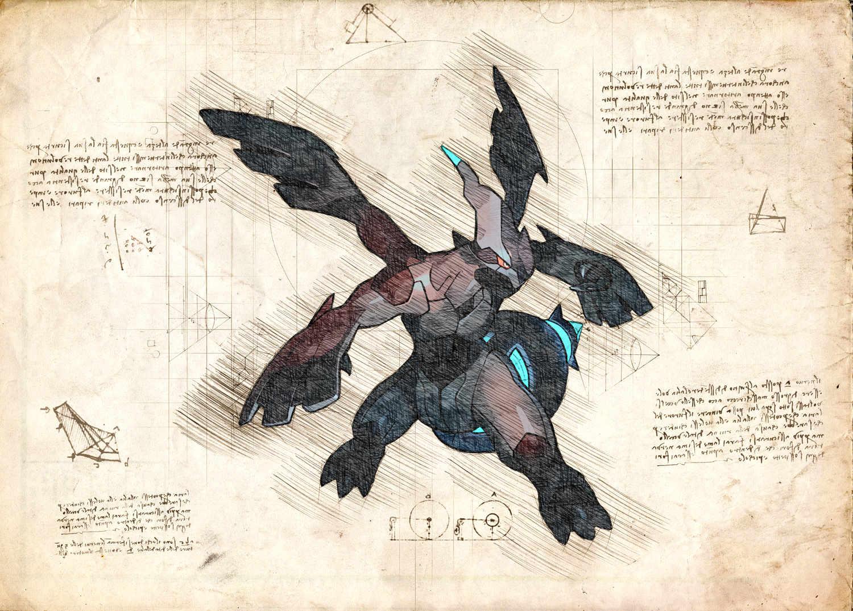 Pergament - Pokemon - Zekrom