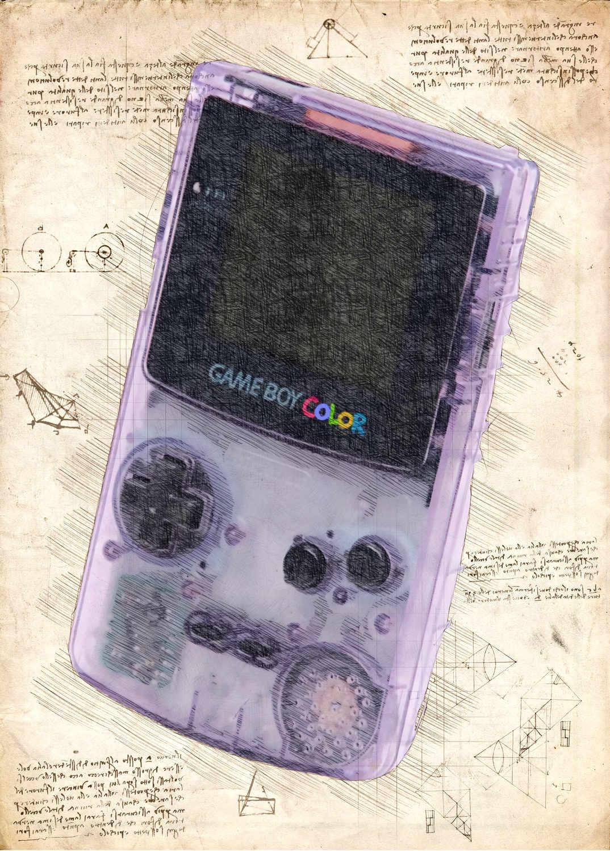 A3 Print - Gameboy