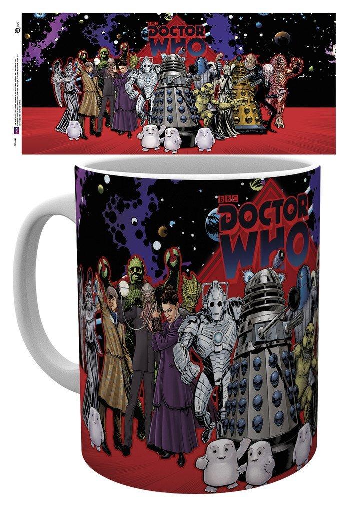 Doctor Who - Group - Mugg