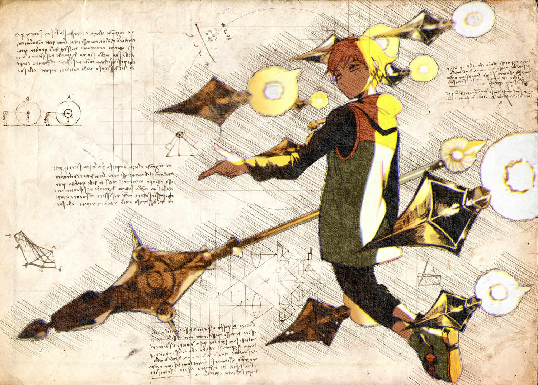 Pergament - 7 Deadly Sins - King