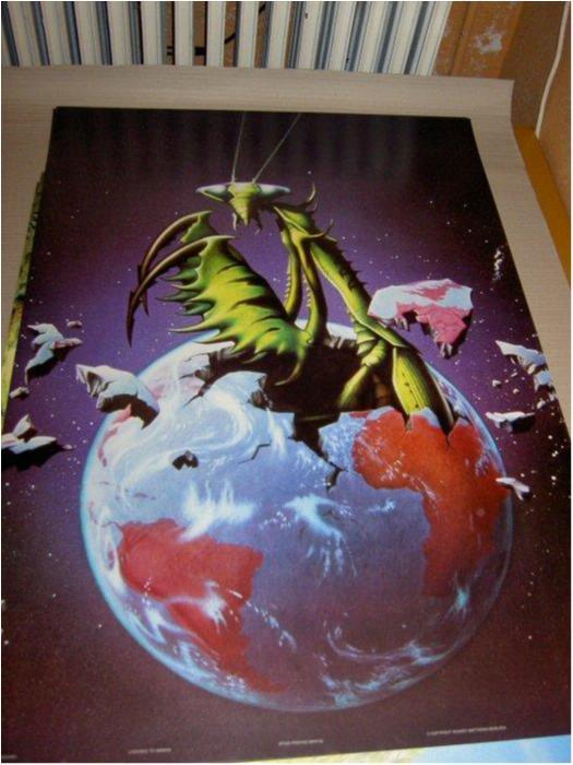 Rodney Matthews - Fantasy Art 20 (Ant in earth)
