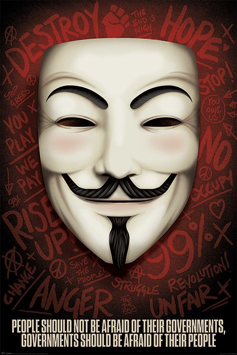 V for Vendetta - Governments should be afraid of their people