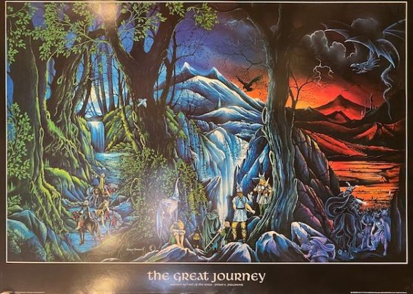 The great journey - Inspired by Lord Of The Rings
