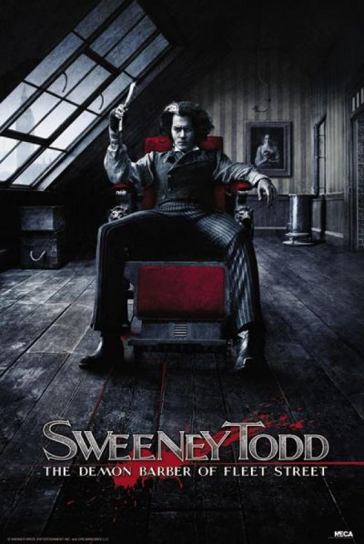 Sweeney Todd - The deamon barber of Fleet Street sitting