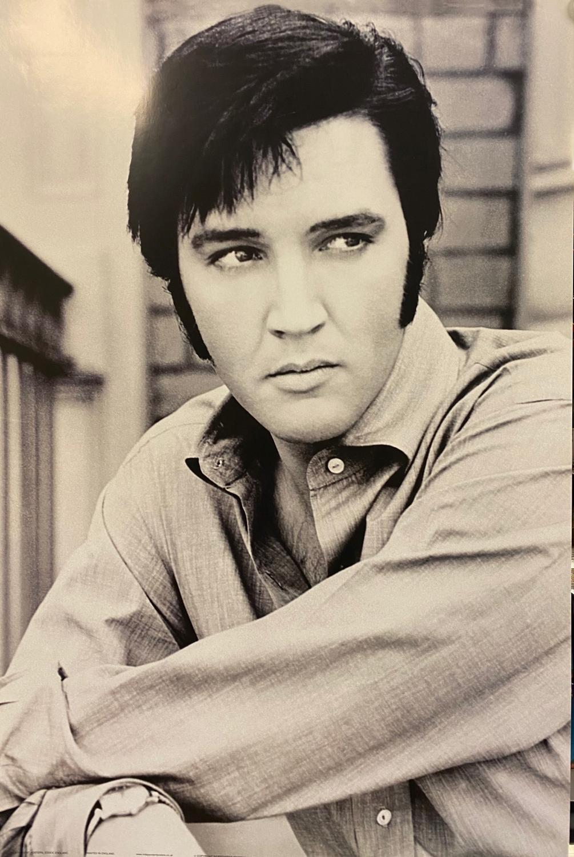 Elvis Presley - B&W