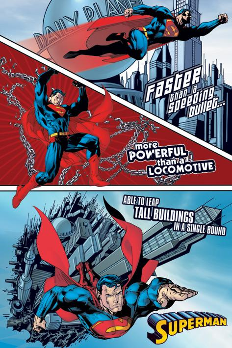 Superman - Faster - Stålmannen