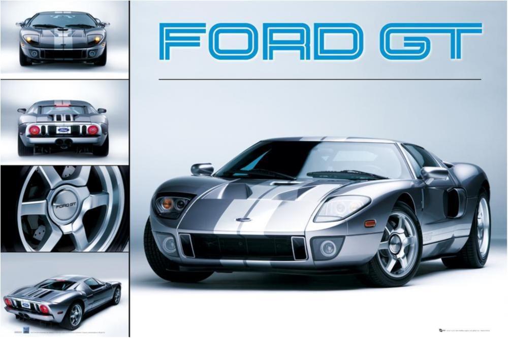 Ford GT (grå) - Classic car