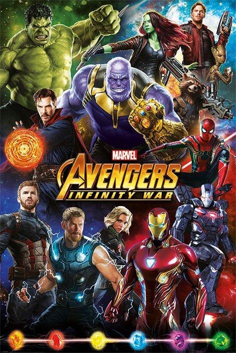 Avengers - Infinity War - Characters