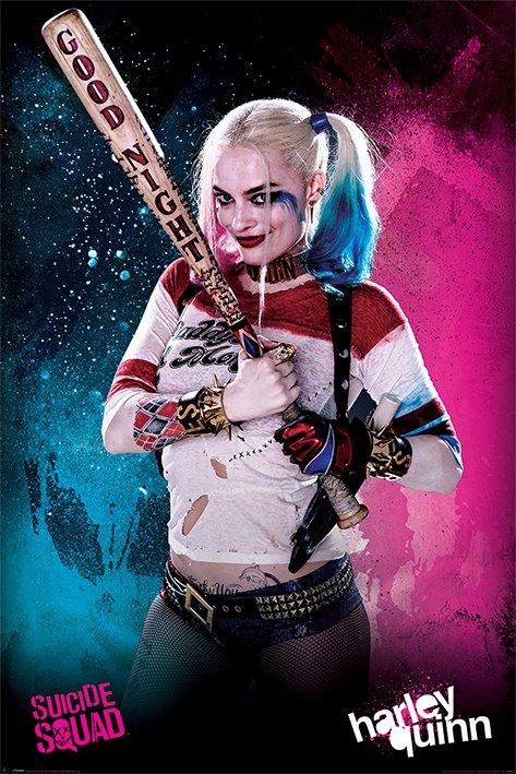 Suicide Squad - Harley Quinn Good Night Bat