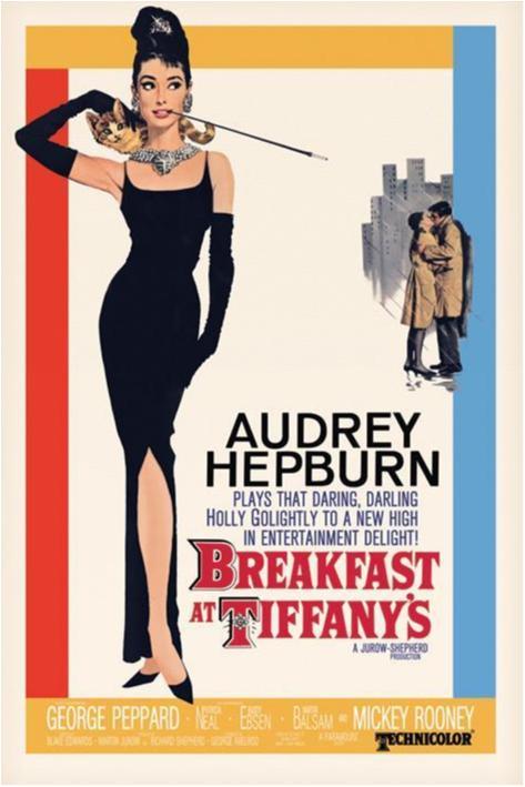 Poster - Audrey Hepburn - Breakfast at Tiffanys