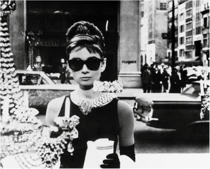 Poster - Audrey Hepburn - Window (miniaffisch)