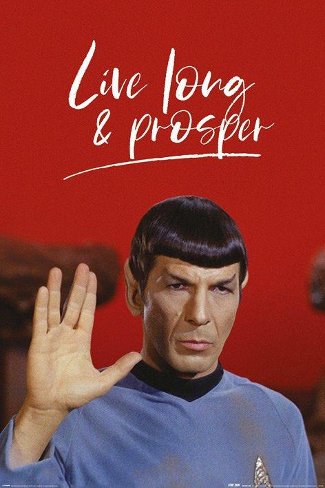 Star Trek - Live Long and Prosper (Spock)