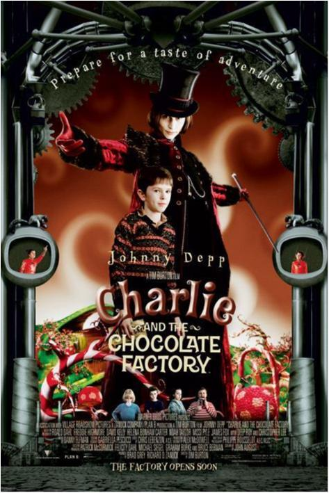 Charlie and the Chocolate Factory - One Sheet (Depp)