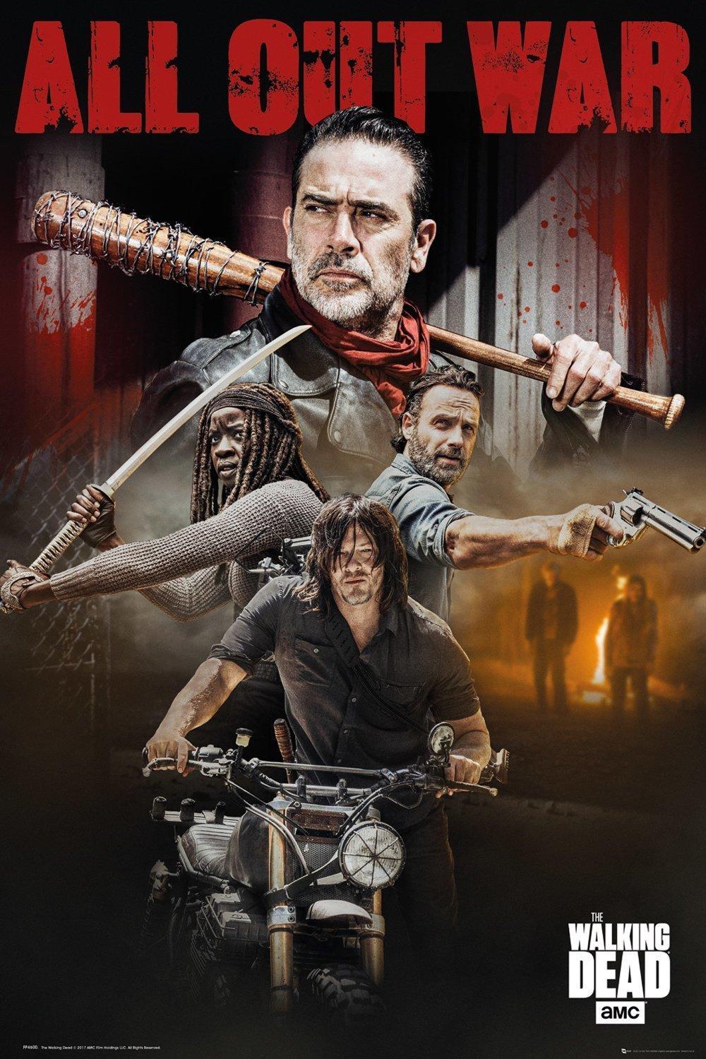 The Walking Dead - Season 8 Collage