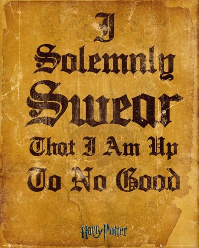 Harry Potter - I Solemnly Swear I Am Up To No Good