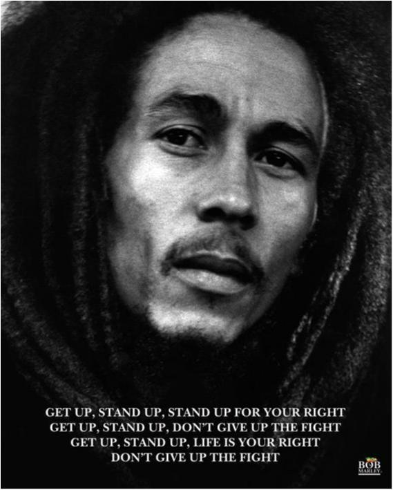 Poster - Bob Marley - Get up Stand up