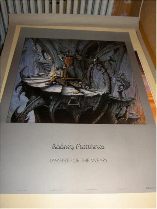 Rodney Matthews - Fantasy Art 17 (Broken warrior)