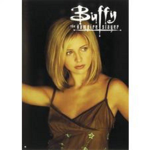Buffy the Vampire Slayer - Sarah Michelle Gellar in armless dress