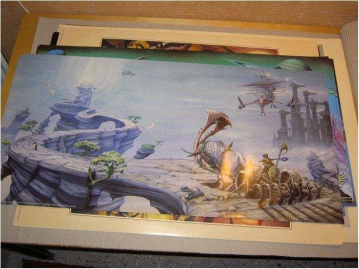 Rodney Matthews - Fantasy Art 4 (Bard med plog)