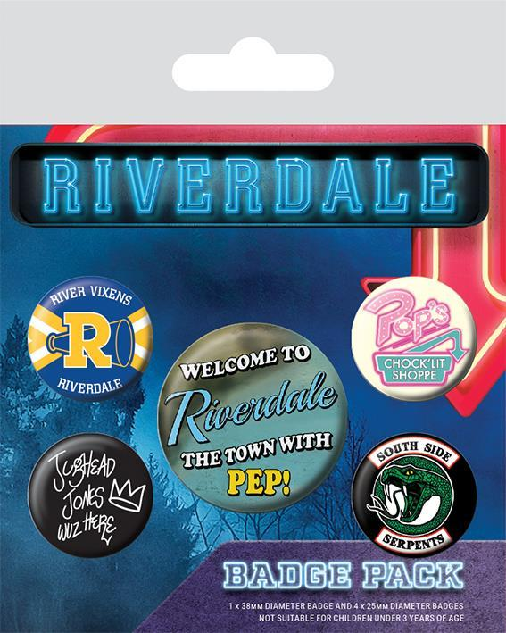 Knappsats - Badge Pack - Riverdale (Icons)