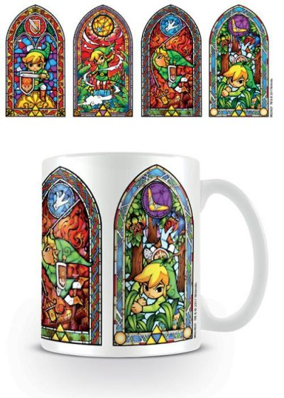 The Legend Of Zelda (Stained Glass) - Mugg