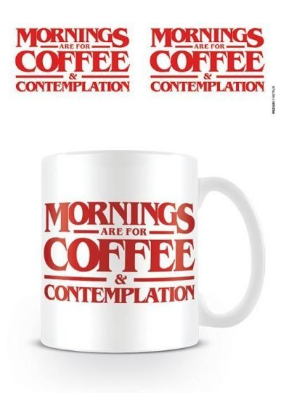 Stranger Things (Coffee and Contemplation) - Mugg
