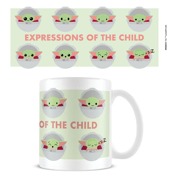 Star Wars:The Mandalorian (Expressions Of The Child) - Mugg