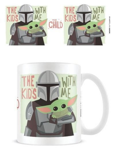 Star Wars: The Mandalorian (The Kids With Me) - Mugg