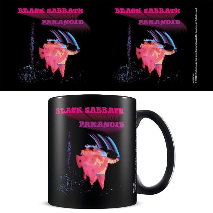 Black Sabbath (Paranoid) Black - Mugg