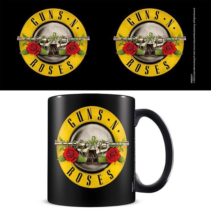 Guns N' Roses (Bullet Logo) Black - Mugg