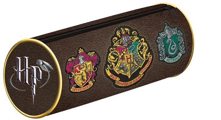 Pencil Case - Penfodral - Harry Potter (Crests)
