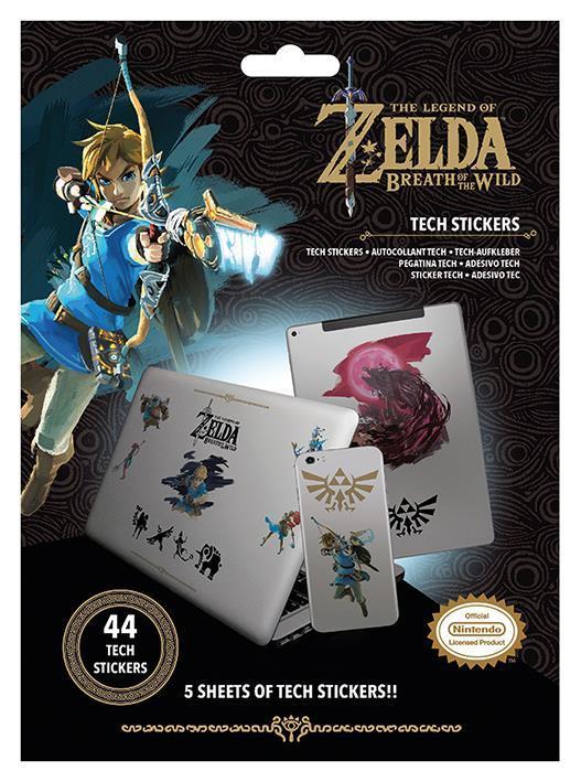 Tech stickers - The Legend Of Zelda: Breath Of The Wild (Power)