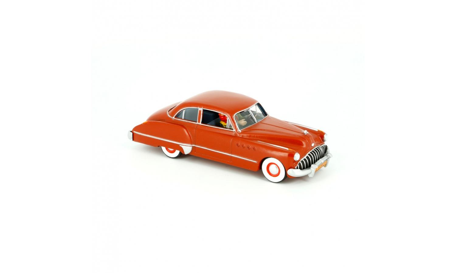 Tintin - Red Buick Roadmaster 1949