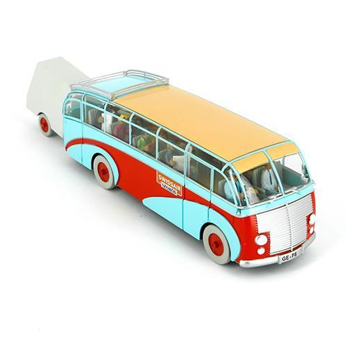 Tintin - Swissair Bus