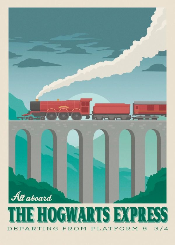 Harry Potter - All aboard the Hogwarts Express