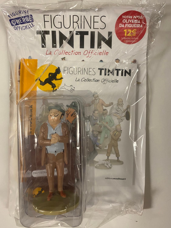 Tintin - Statyett N16 -Oliveira Da Figuiera - RARE