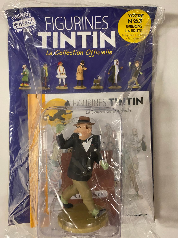 Tintin - Statyett N63 - Gibbons La Brute - RARE