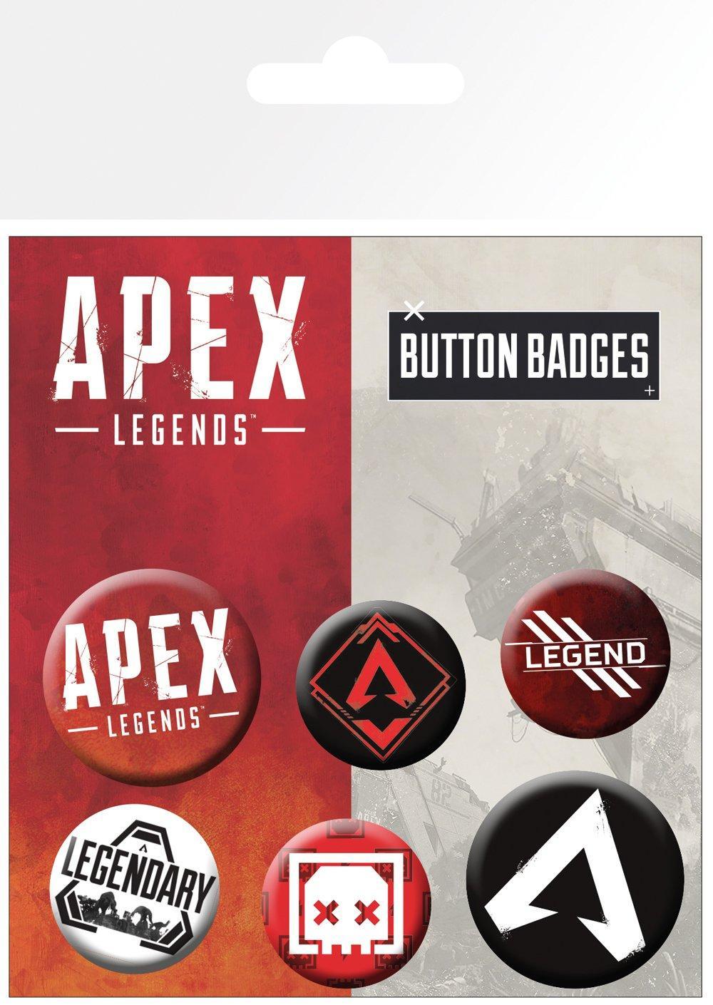 Knappsats - Badge Pack - Apex - Ledgends