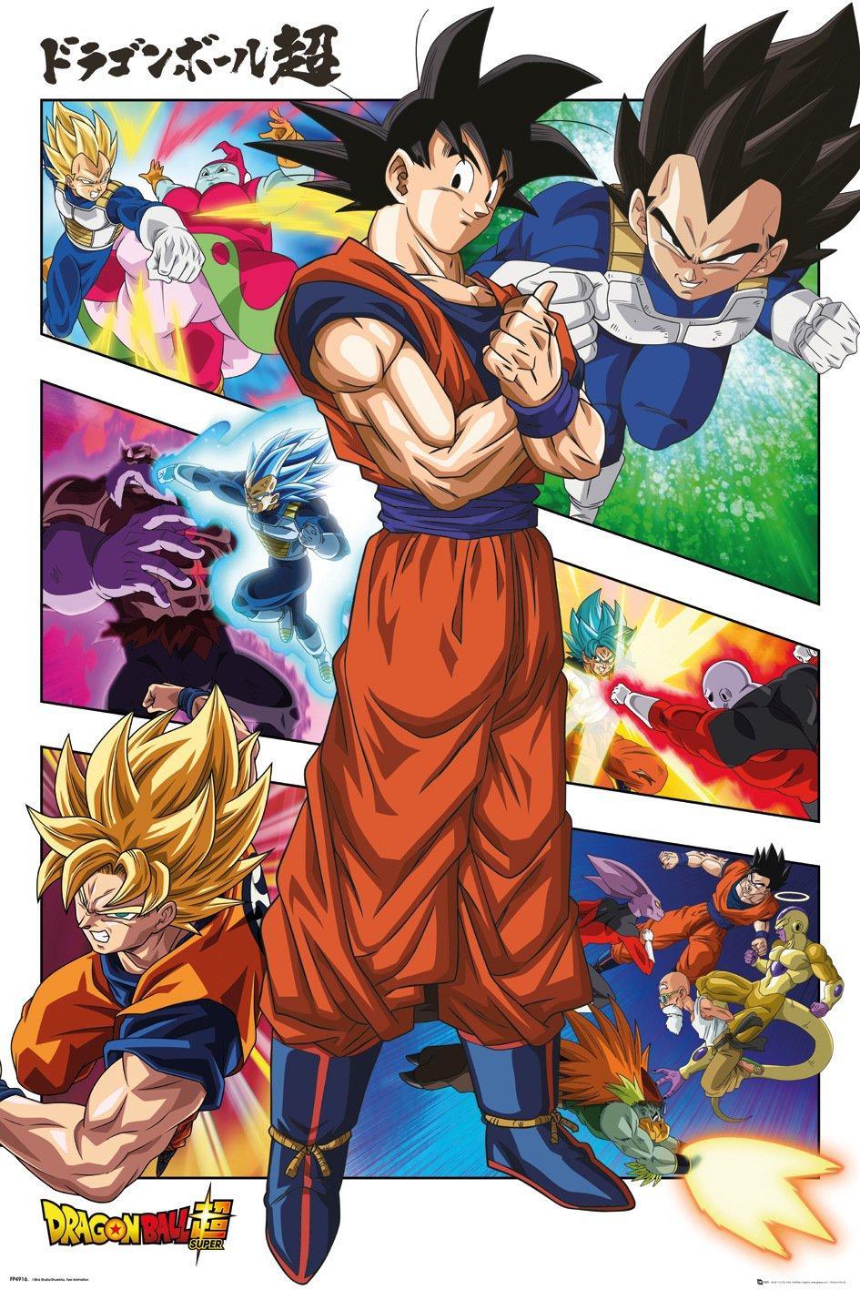 Dragon Ball Super - Panels