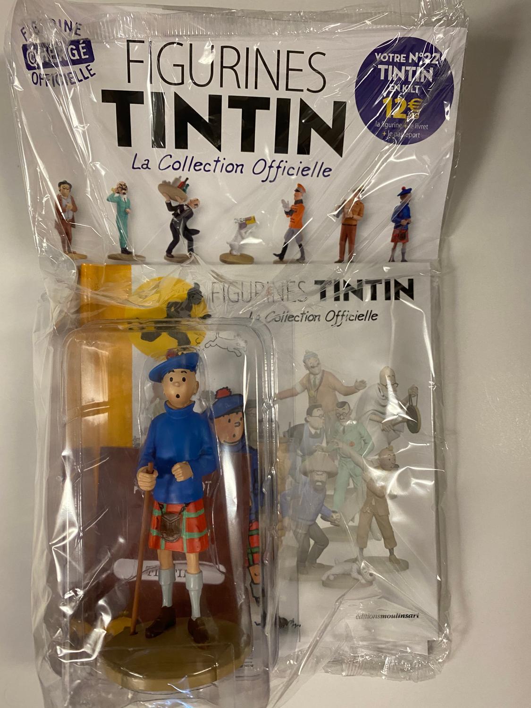 Tintin - Statyett N22 - Tintin En Kilt - RARE