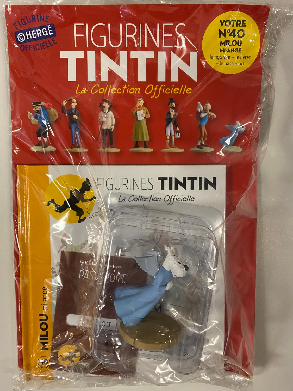 Tintin - Statyett N40 - Milou Mi-Ange - RARE