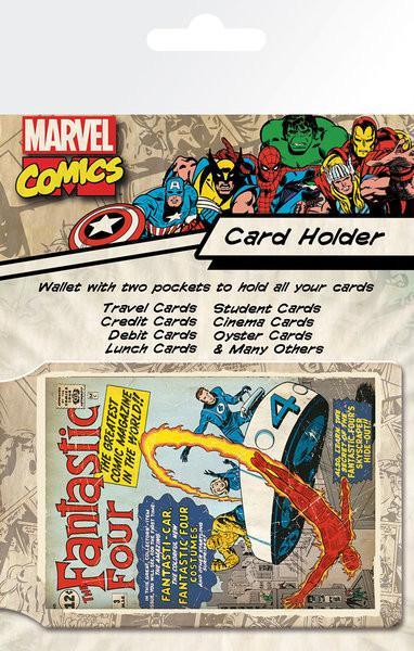 Korthållare - Fantastic Four - Marvel
