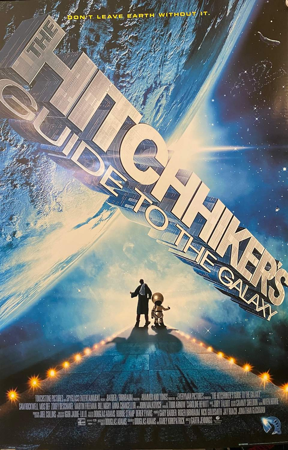 Hitchhikers guide to the galaxy - One Sheet