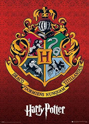 Harry Potter - Crest (Metallic poster)