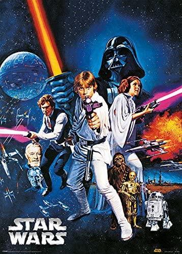 Star Wars - RARE! (Metallic poster)