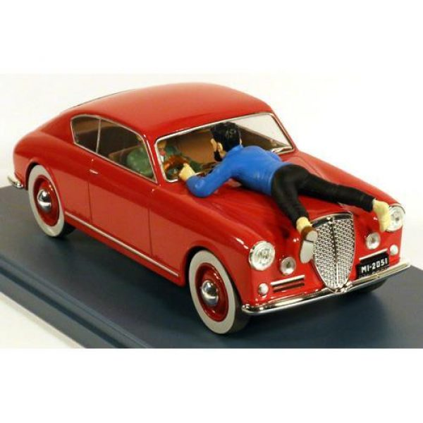 Tintin - 1:24 Modellbil #14 - Lancia Aurelia b20