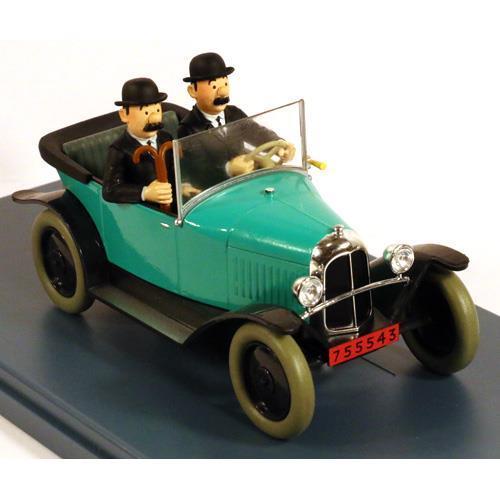 Tintin - 1:24 Modellbil #27 - Dupntarnas Citroen 5CV