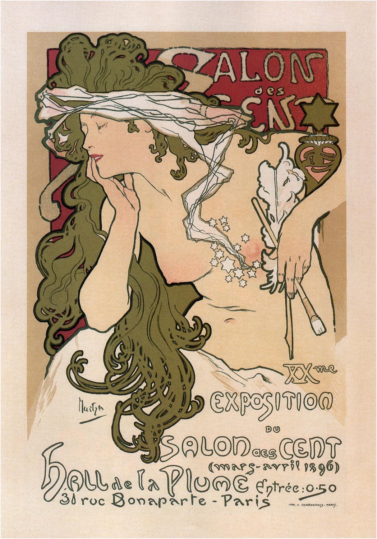A3 Print - Alphonse Mucha - No5