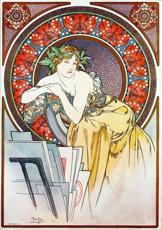 A3 Print - Alphonse Mucha - No29