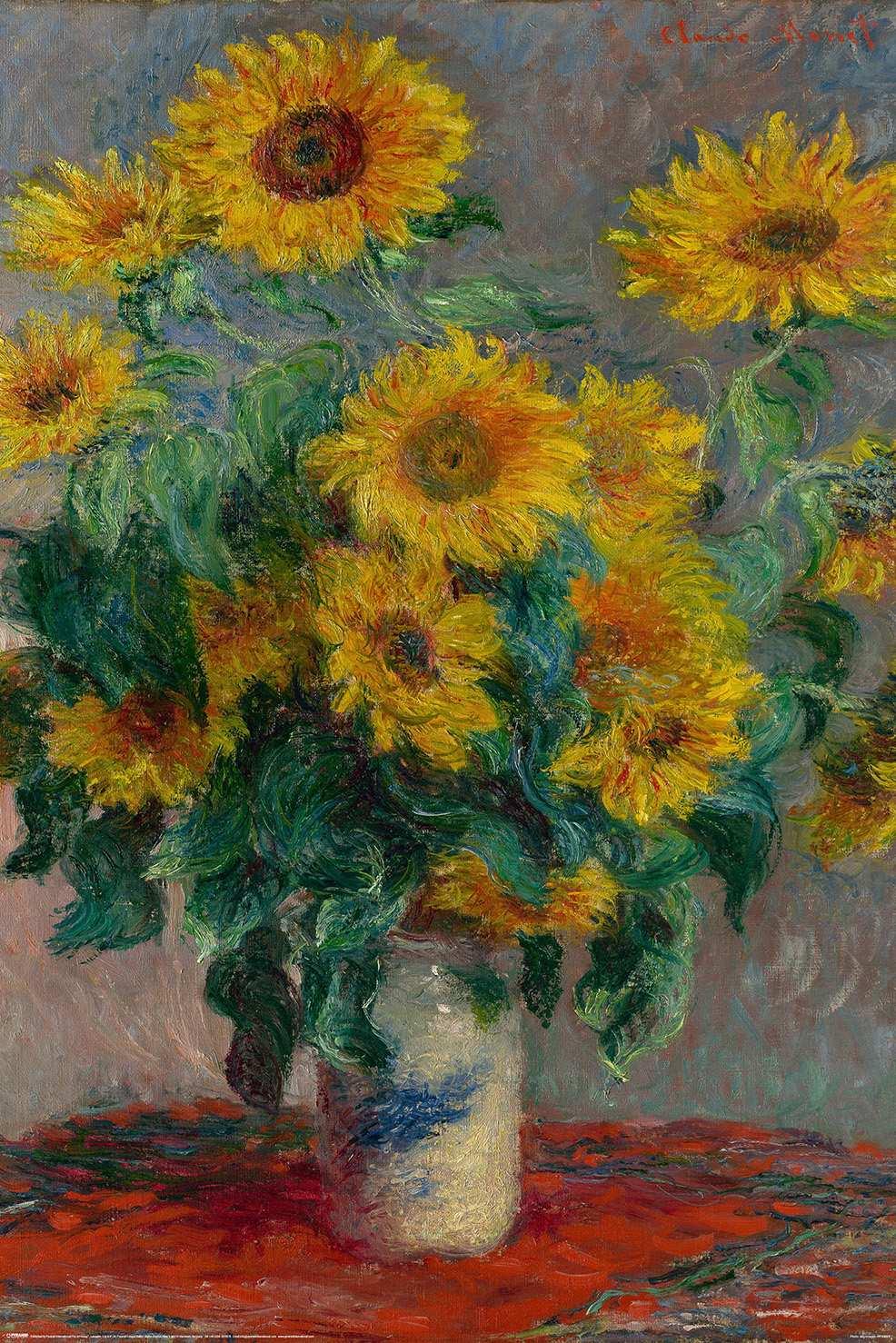 Monet (Bouquet of Sunflowers)